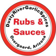 Dusty River Garlic Spices Logo