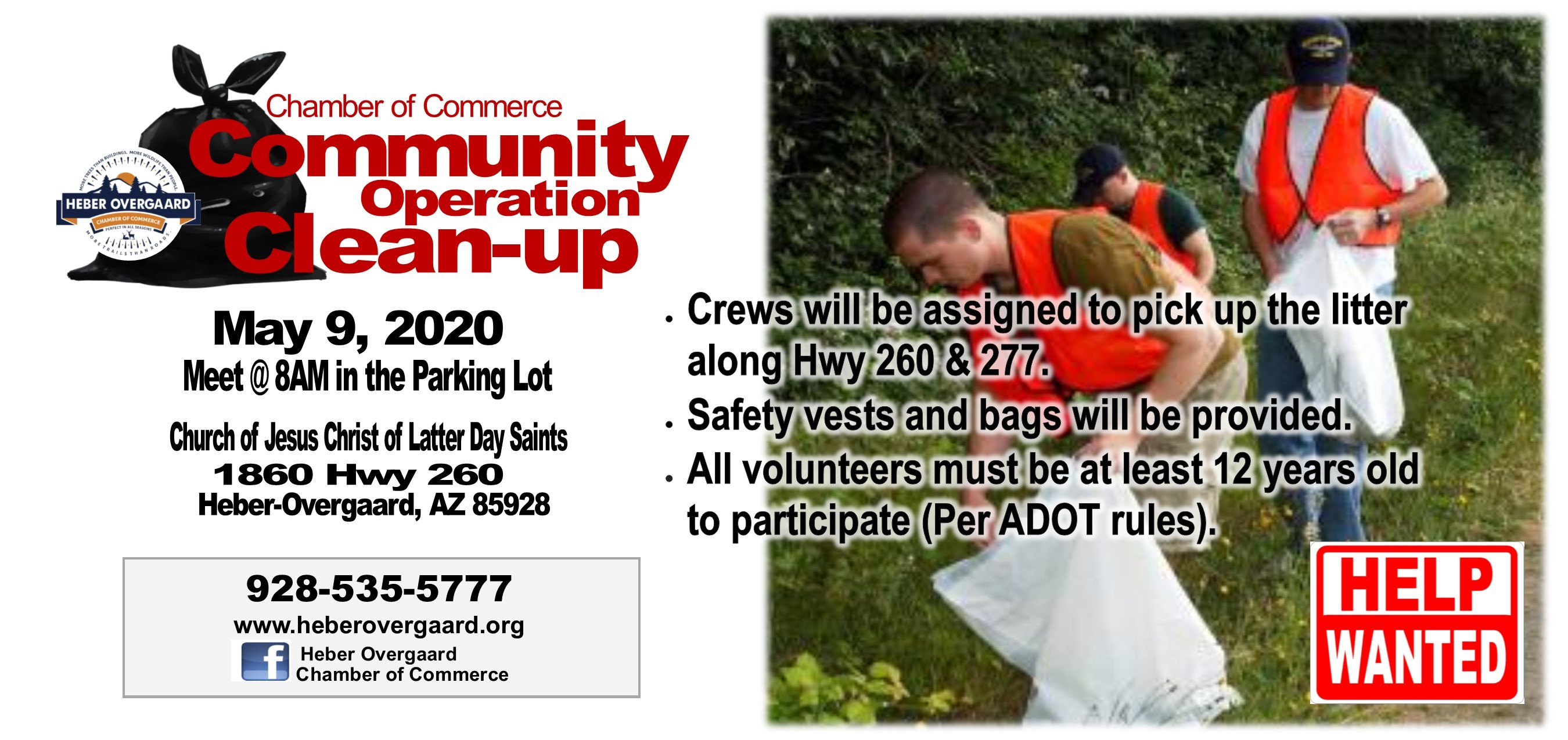 2020 Chamber Community Clean Up Day
