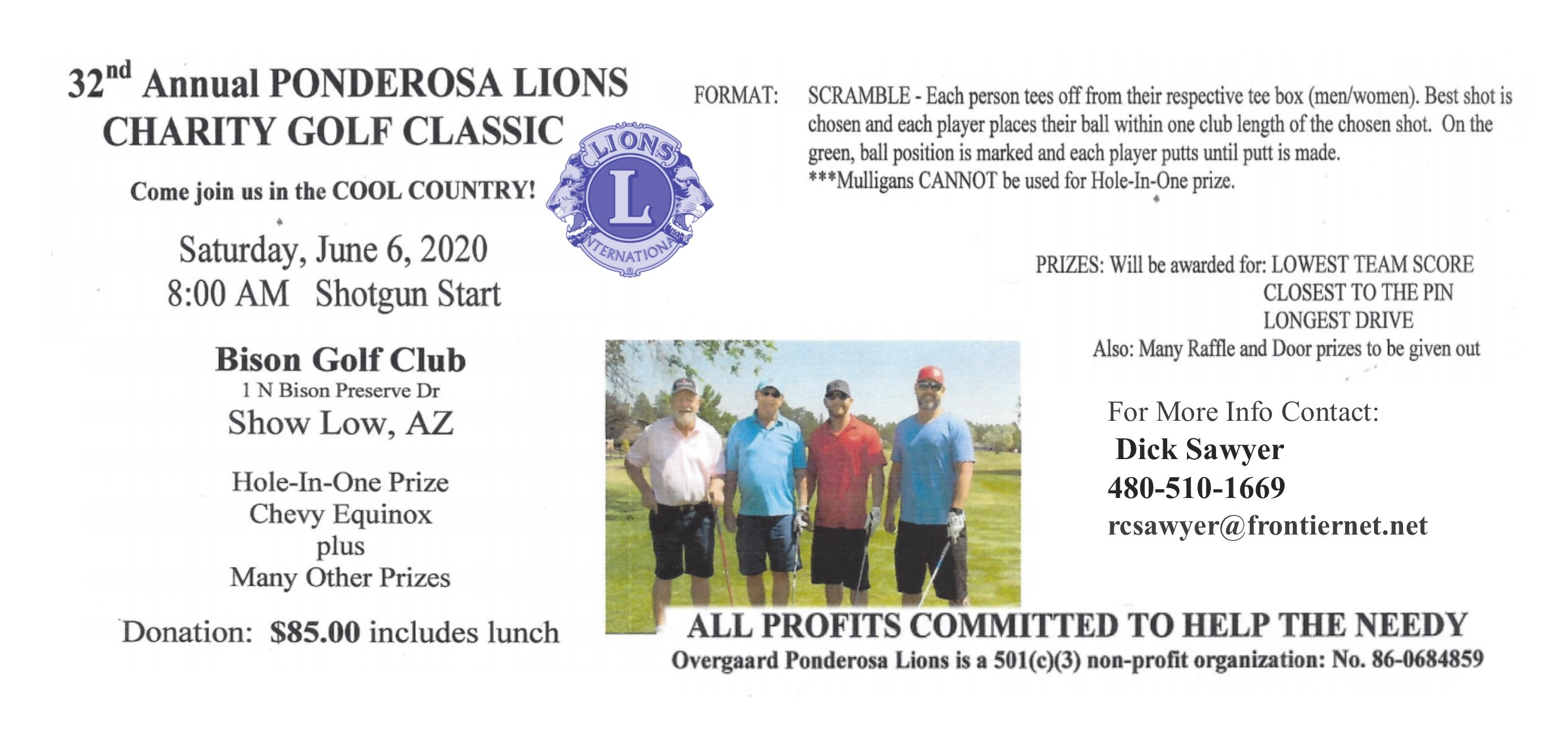 2020 Lions Golf Tournament