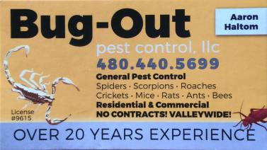 Bug-Out Pest Control Logo