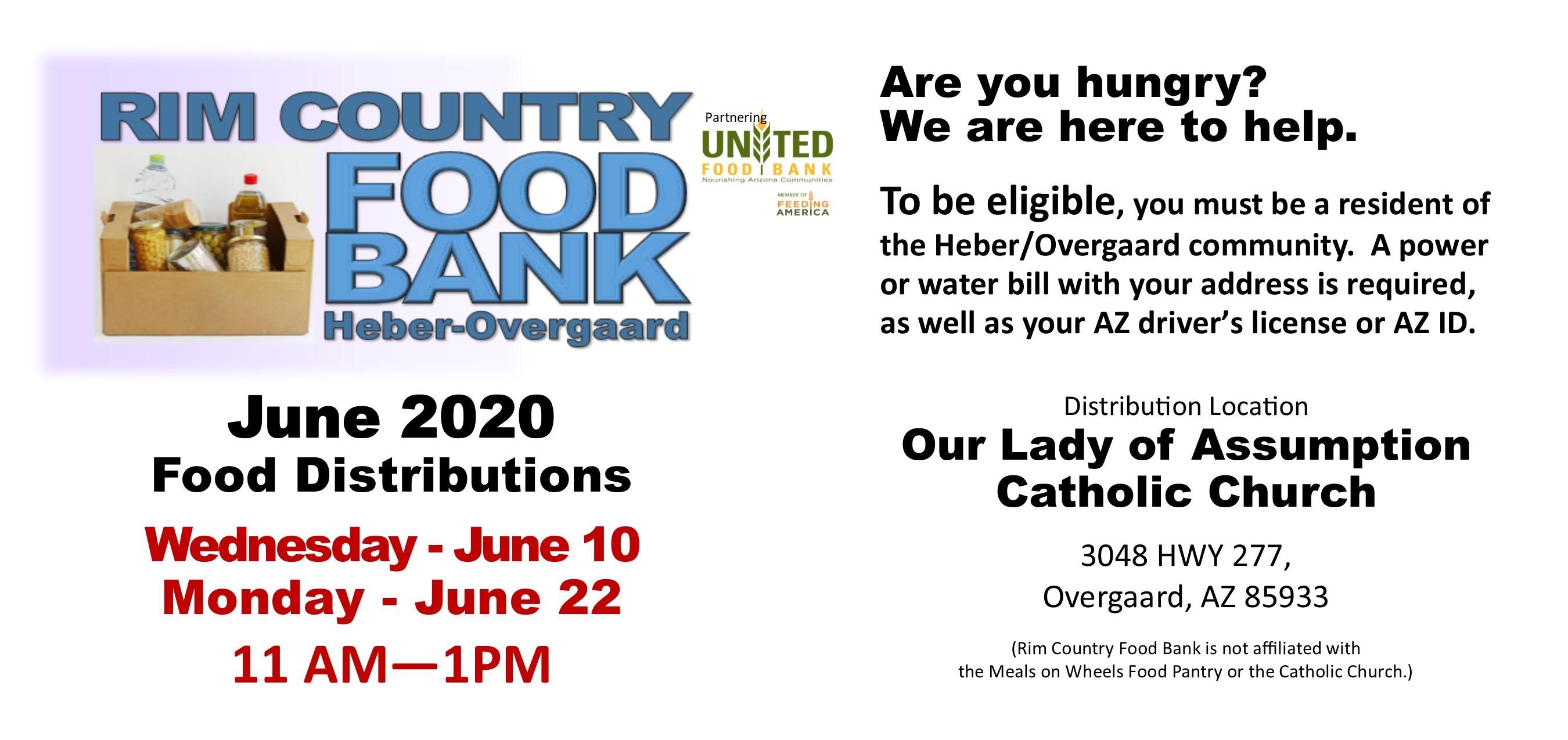 June Food Bank
